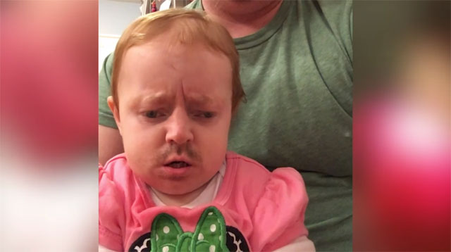 WATCH: A Dad Got the Brilliant Idea to Face Swap With His Baby Girl