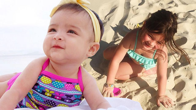 The Cutest Celebrity Baby Beach Outfits