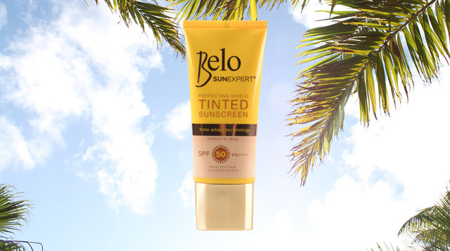 What We Love: Tinted Sunscreen from Belo SunExpert