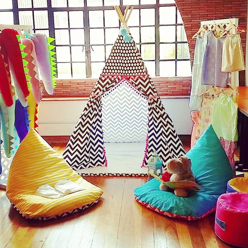 Go camping indoors