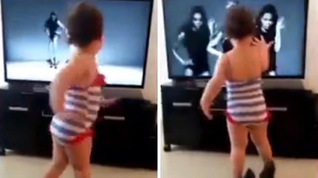 This Made Our Day: Adorable Toddler Dances to Single Ladies in High Heels