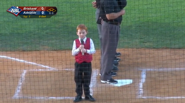 This Made Our Day: This Kid Got the Hiccups While Singing the National Anthem and It's Adorable