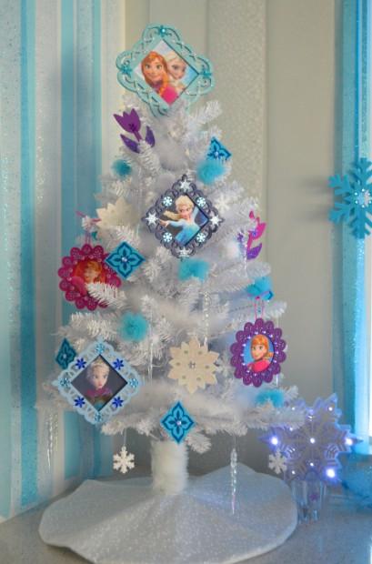 a cutie frozen tree
