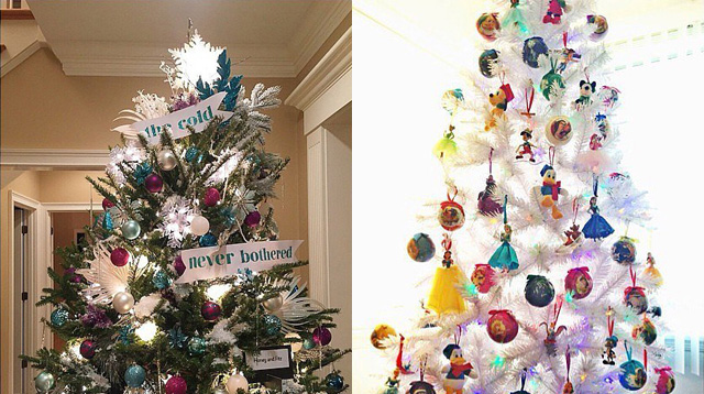 12 Christmas Trees Decorated Disney-Style for the Disney-loving Family