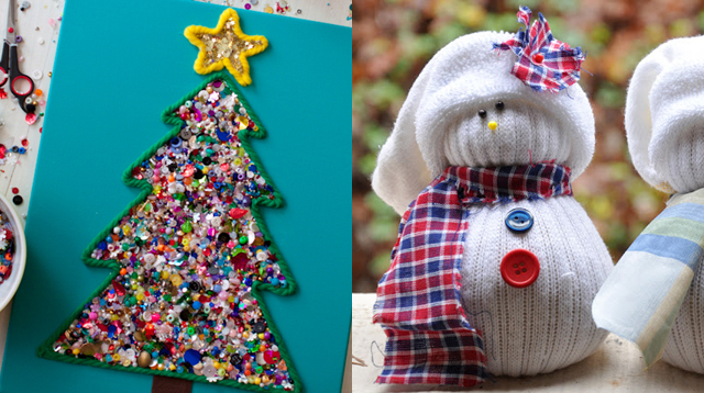 9 christmas diy crafts and decorations to make with the kids sp christmas parties are being planned left and right everyones joining a gift exchange kris kringle students are overflowing with giddiness why solutioingenieria Image collections