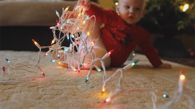 This Made Our Day: What's It Like to Have a Baby in the House During Christmas Season