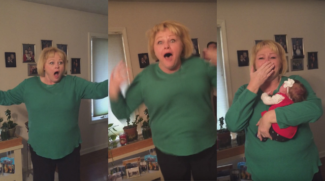 This Made Our Day: This Grandma Got an Unexpected Surprise for Christmas