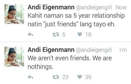 Andi Tweet c/o Pep.ph