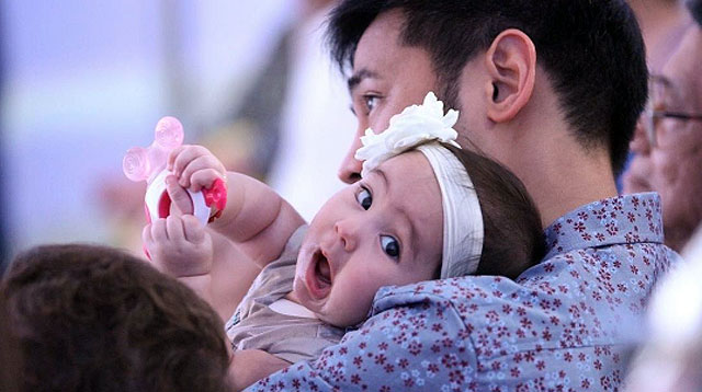 Top of the Morning: Watch Baby Scarlet Snow's Dedication Video