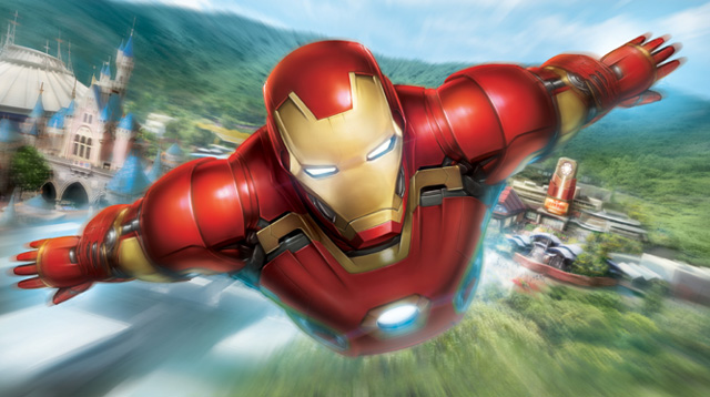 Hong Kong Disneyland to Launch Marvel's Iron Man Experience Ride in Late 2016