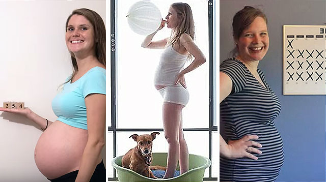 7 Creative and Inspiring Pregnancy Time-Lapse Videos
