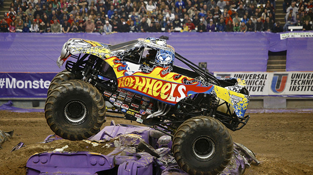 Father's Day Gift Idea: Monster Jam Truck Exhibition!