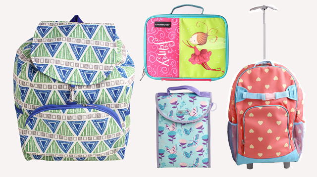 14 School Bags and Lunch Kits to Motivate Your Kids for School