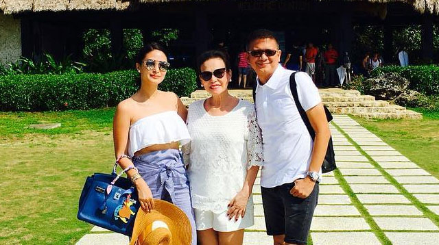 Heart Evangelista Takes Her Mom on Vacation--at Her Wedding Venue!