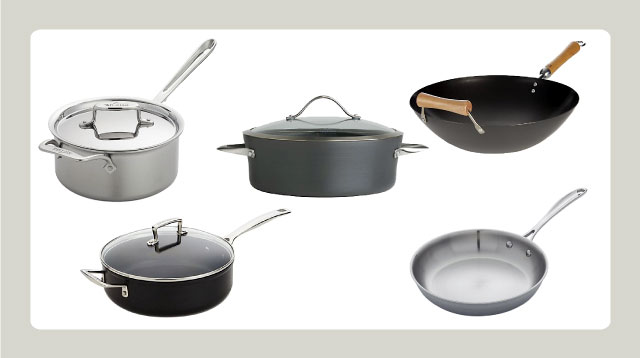 These Are the Only Pots and Pans You Need for Everyday Cooking