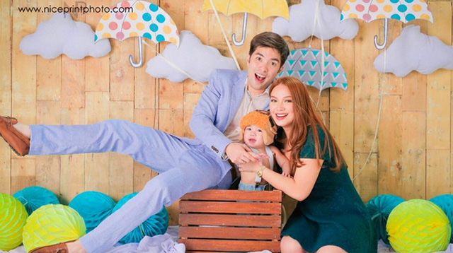 Top of the Morning: Look! Joross Gamboa's Family Photo Shoot!