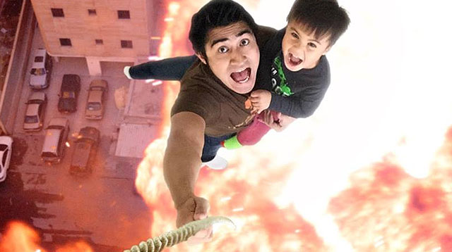 WATCH: This Dad Bonds With His Kid By Making Action Movies!