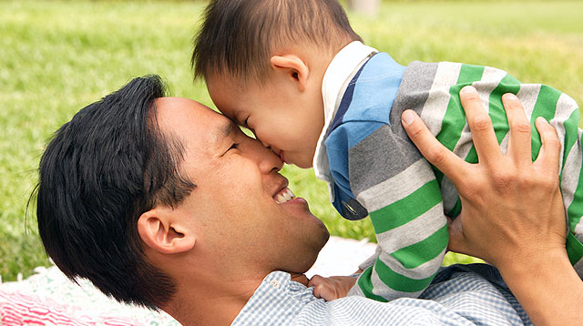 A Filipino Survey Says Dads See Themselves as Directors of Fun