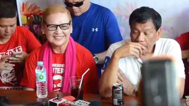 Duterte's Ex-Wife Admits She Is a Bit Worried About Inauguration