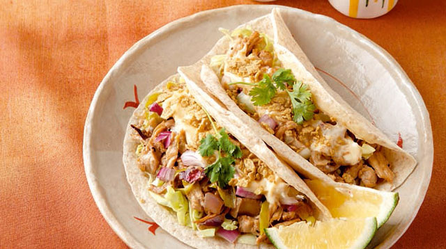 Love to Eat With Your Hands? Try This Chicken Sisig Soft Tacos Recipe
