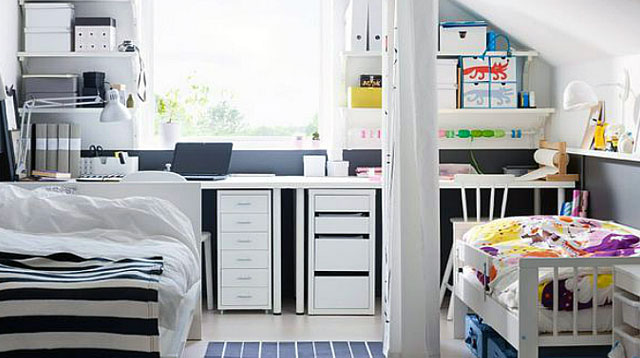 5 Ideas for a Combined Nursery and Master Bedroom