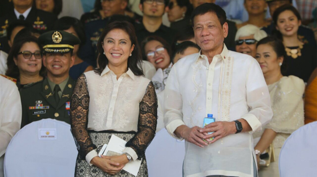 President Duterte and VP Robredo Are All Smiles During First Meeting