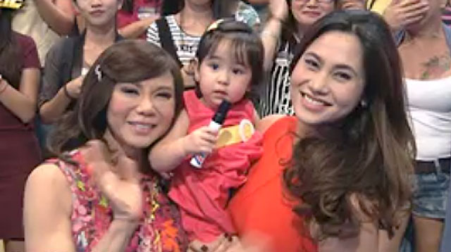 Top of the Morning: Scarlet Snow Makes Appearance on Noontime Show