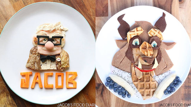 Mom Makes the Most Amazing Food Art to Convince Her Son to Try New Food