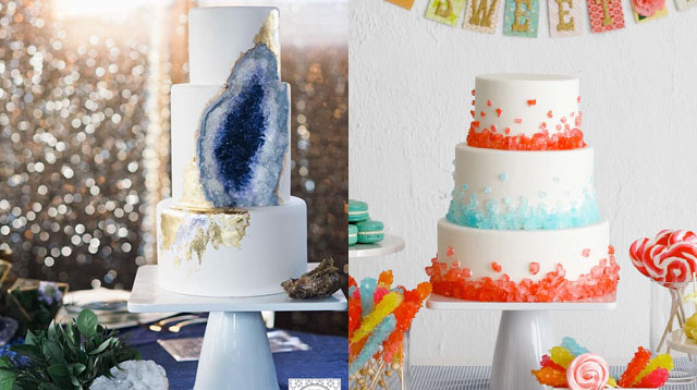 Geode Cakes Are the Latest in Party Trends: Yay or Nay?