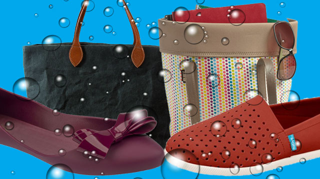Switch to These Stylish and Rain-Ready Bags and Shoes