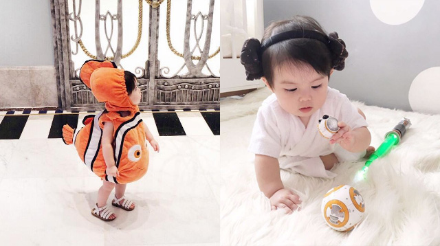 Baby Olivia's Pop Culture-Themed Outfits Are the Cutest Things You'll See Today