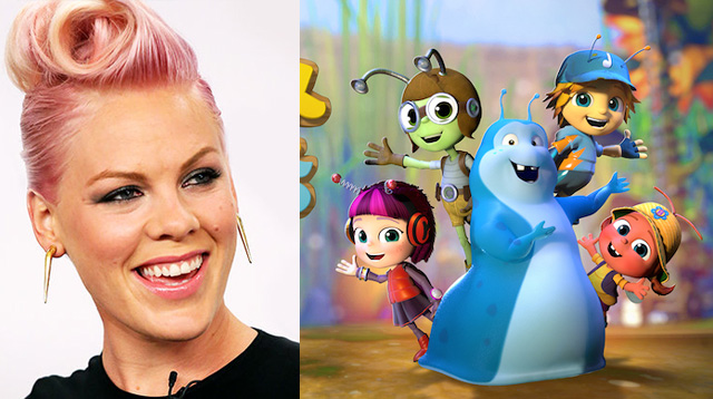 First Look: P!nk Sings The Beatles' 'Lucy In The Sky With Diamonds' for New Animated Series
