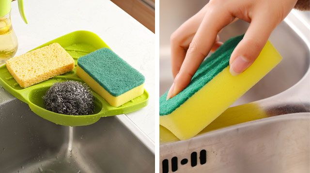 3 Ways to Disinfect Your Kitchen Sponges