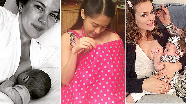 10 Celebrity Breastfeeding Moms Who Rock