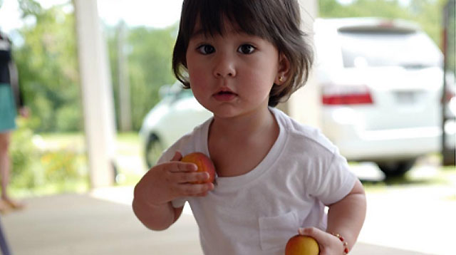 Top of the Morning: Watch Scarlet Snow's First Lessons on Healthy Eating