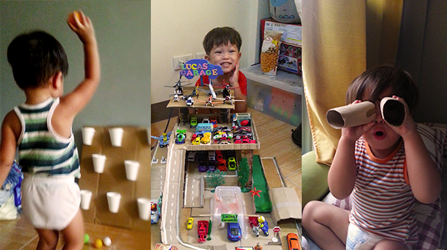 You Have to See the Toys This Mom Made for Her 3-Year-Old Son