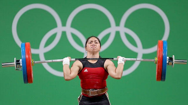 WATCH: Hidilyn Diaz's Silver Medal-Winning Lift At Rio 2016 Olympics