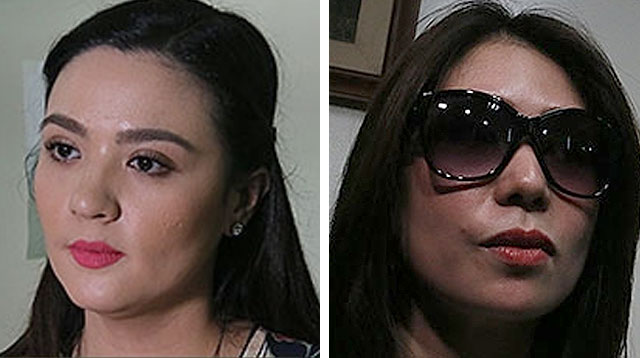 Top of the Morning: Sunshine Dizon and Clarisma Sison Meet in Court
