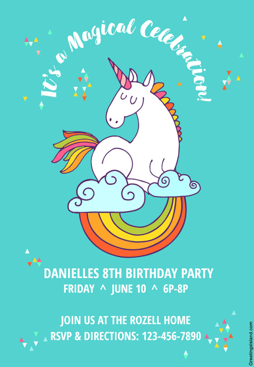 In A Rush These 17 Free Printable Party Invitations Can Help Sp