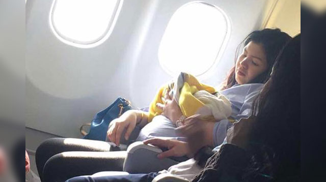 This Woman Gave Birth to a Baby Girl on a Cebu Pacific Plane!
