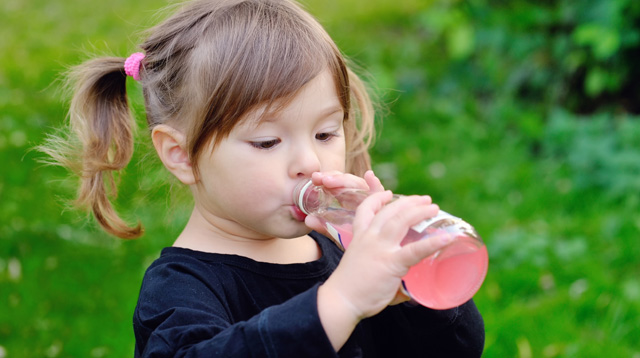 Kids 2 Years and Below Should Not Have Any Sugary Drink