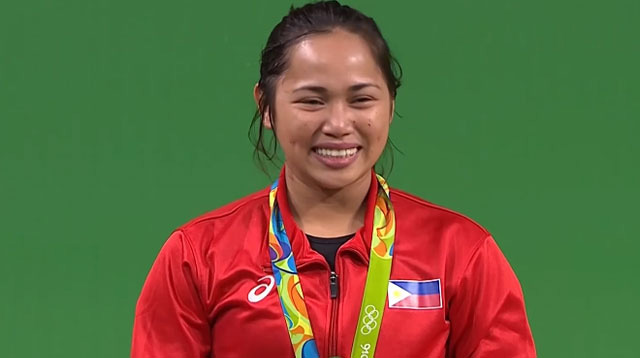 The Perks of Being Olympic Silver Medalist Hidilyn Diaz