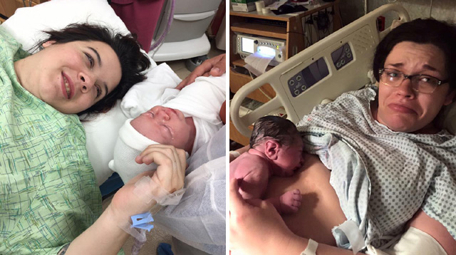 Real Moms Share Their Photos When They First Saw Their Babies