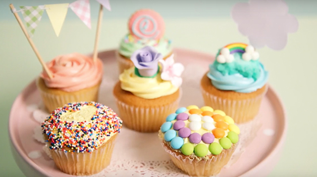 WATCH: 6 Easy Hacks to Decorate Store-Bought Cupcake