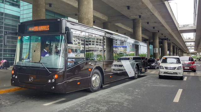 Try the 'Ube Express' From NAIA to Commute Home