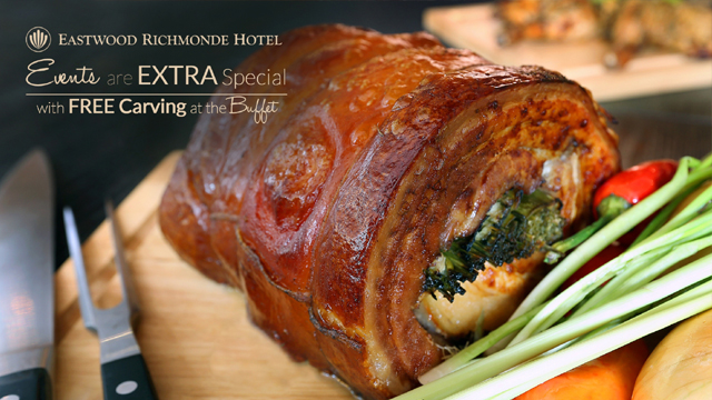 Get Delicious Freebies With Eastwood Richmonde Hotel's Buffet Packages