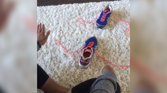 Mom's Video Tutorial on How to Tie Shoelaces Has Gone Viral