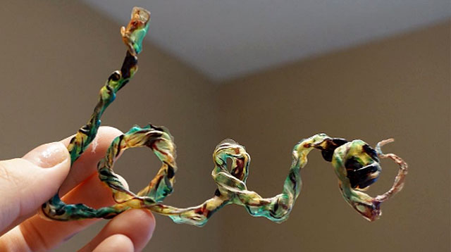 New Pregnancy Keepsake Trend: Umbilical Cord Art