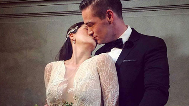 In Photos: Cristalle Belo and Justin Pitt's Lake Como Wedding