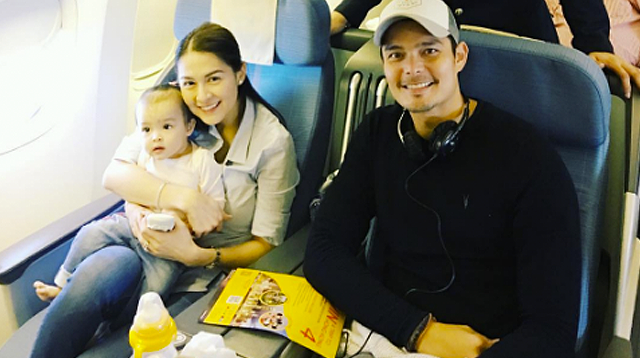 WATCH: Baby Zia Is All Smiles for Her First International Flight!
